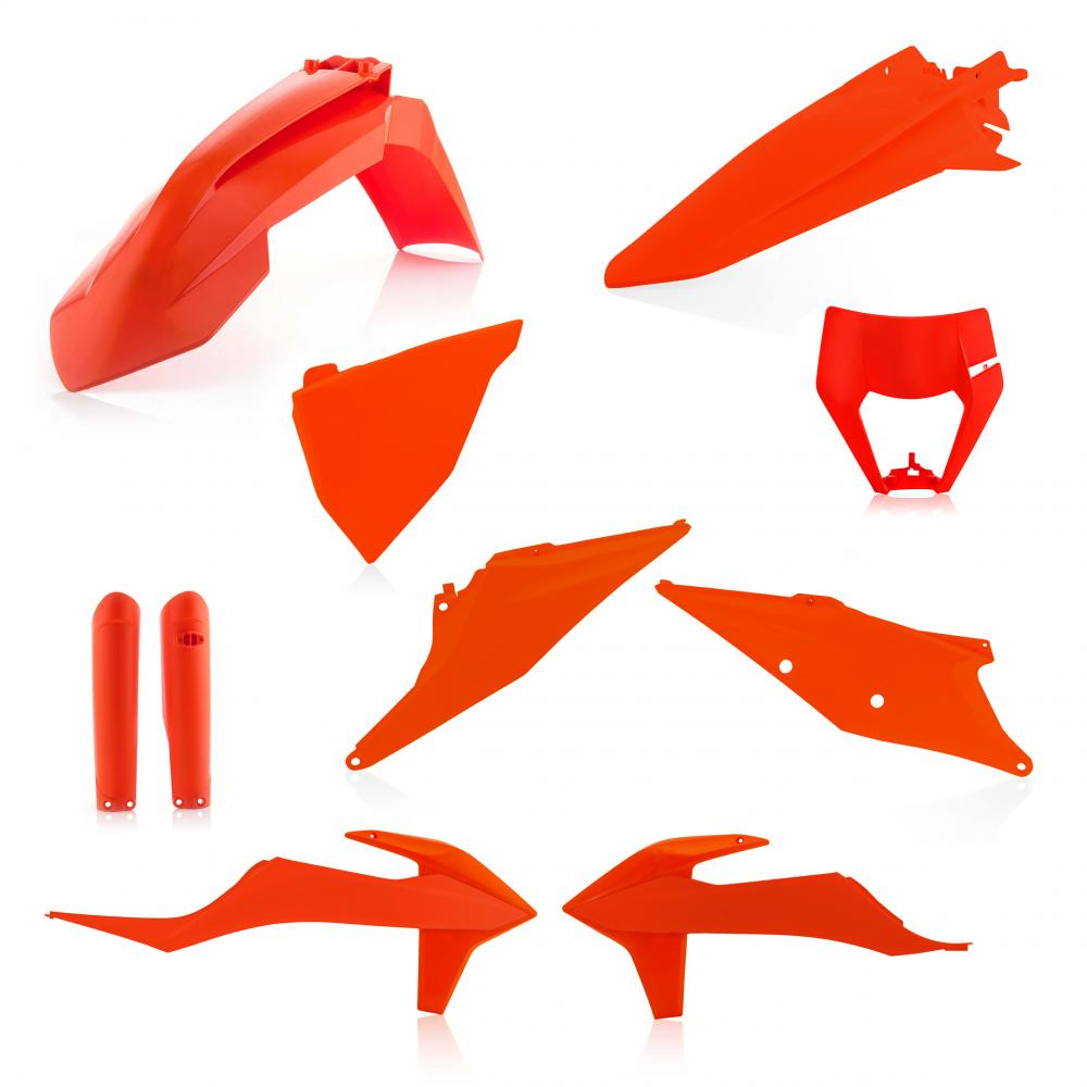 ACERBIS KTM Plastik Full Kit EXC/EXC-F 2020, Orange 16